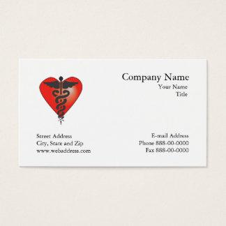 Tarjeta de visita del cardiólogo