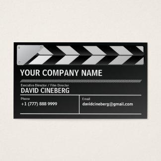 Tarjeta de visita del director de cine/del