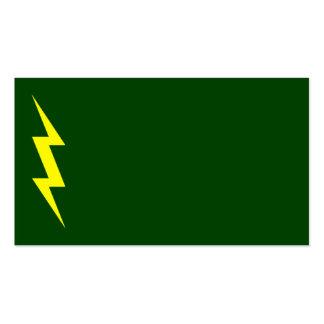 Tarjeta de visita del electricista 3