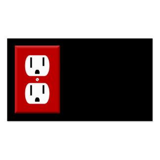 Tarjeta de visita del electricista 4