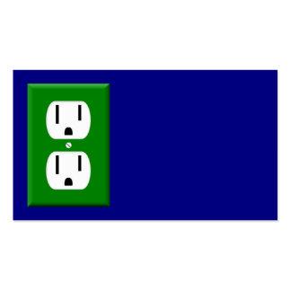Tarjeta de visita del electricista 6
