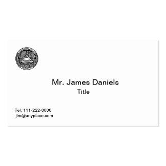 Tarjeta de visita del escudo de armas de American