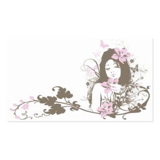 Tarjeta de visita del Floral-Chica