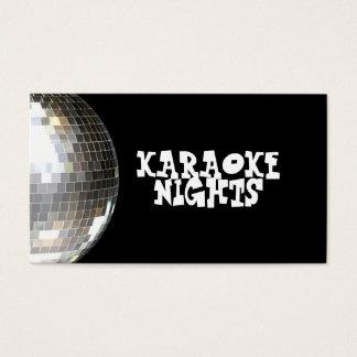 Tarjeta de visita del Karaoke