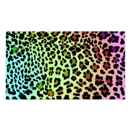 Fondos leopardo de colores - Imagui