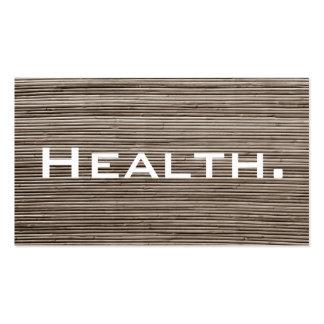 Tarjeta de visita del profesional de salud