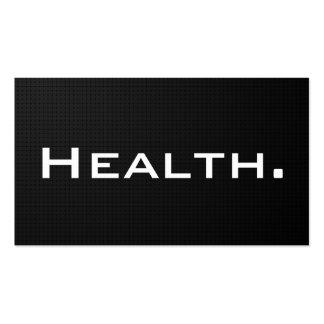 Tarjeta de visita del profesional de salud N0 2 mo