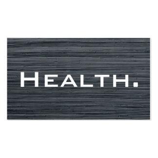 Tarjeta de visita del profesional de salud No 2