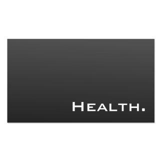 Tarjeta de visita del profesional de salud No 2 mo