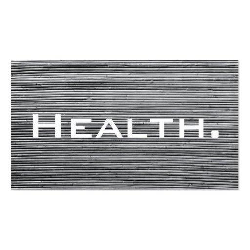 Tarjeta de visita del profesional de salud - no. 2