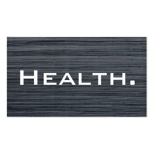 Tarjeta de visita del profesional de salud No.2