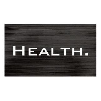 Tarjeta de visita del profesional de salud No 4