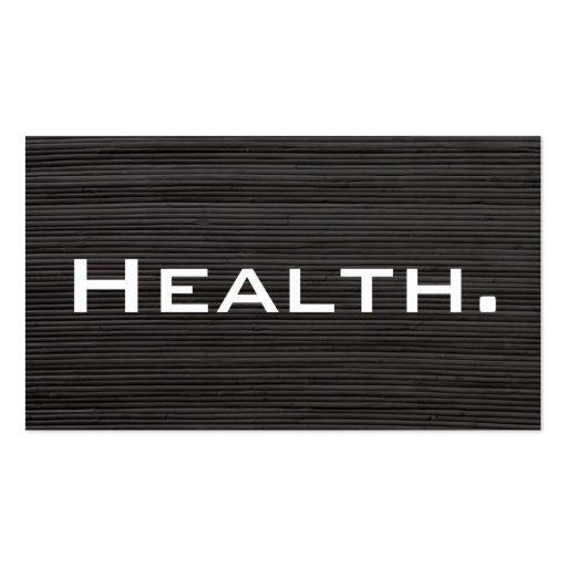 Tarjeta de visita del profesional de salud No.4