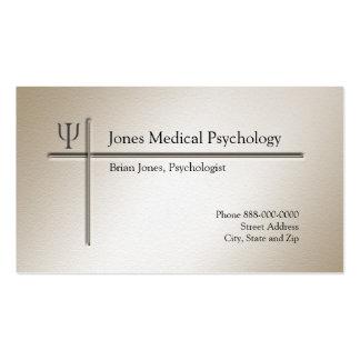 Tarjeta de visita del psicólogo