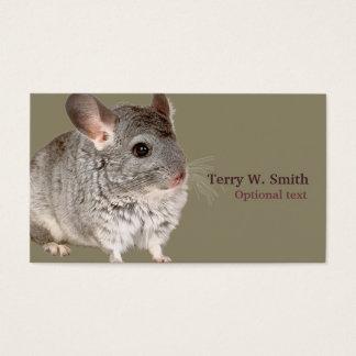 Tarjeta de visita del ratón