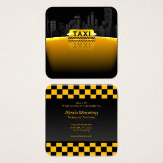 tarjeta de visita del taxista