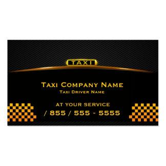Tarjeta de visita del taxista de Cab Company