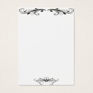 Tarjeta de visita del Victorian
