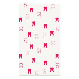 Tarjeta de visita dental tarjetas de visita