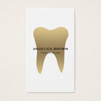 Tarjeta de visita dental