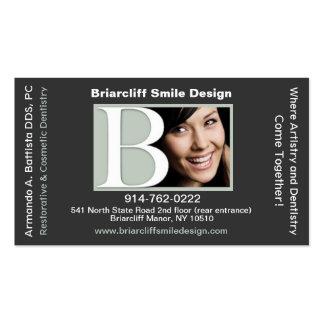 Tarjeta de visita dental adaptable de la cita