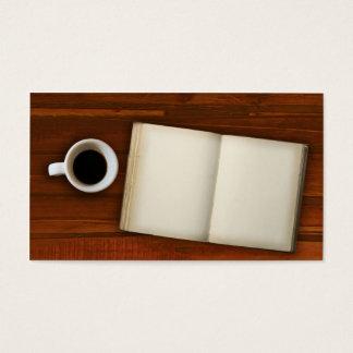 Tarjeta De Visita Descanso para tomar café
