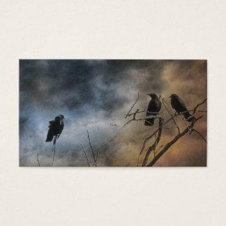 Tarjeta De Visita Desconcertar pájaros