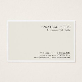 Tarjeta De Visita Diseño con clase minimalista moderno profesional
