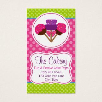 Tarjeta De Visita Diseño de moda de la panadería de la magdalena del