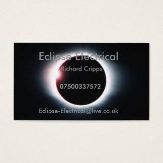 Tarjeta De Visita Eclipse eléctrico