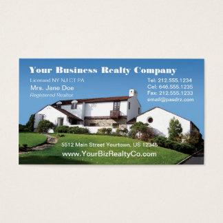 Tarjeta de visita Editable de Realty Company
