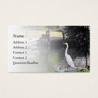 Tarjeta De Visita Egret