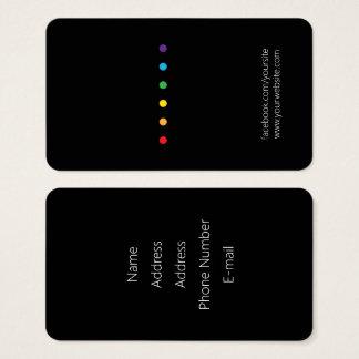 Tarjeta De Visita El arco iris puntea orgullo de LGBT