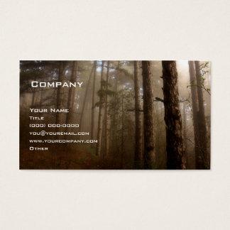 Tarjeta De Visita El bosque