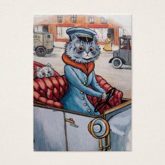 Tarjeta De Visita El chófer del gato - bilateral