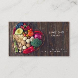 Tarjeta De Visita El doctor Card del deporte de Dietologist del