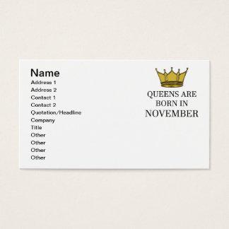 Tarjeta De Visita El Queens nace en noviembre
