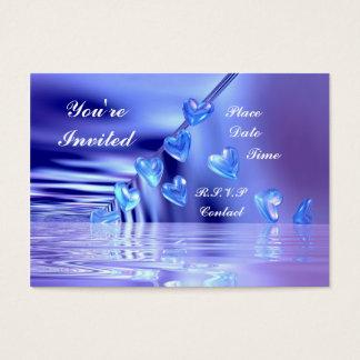 Tarjeta De Visita El suyo Bluely - rechoncho