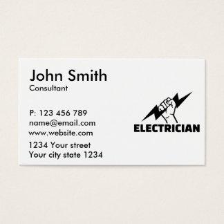 Tarjeta De Visita Electricista