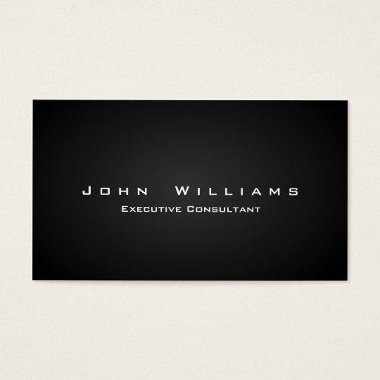 Tarjeta De Visita Elegante profesional minimalista autónomo freelans