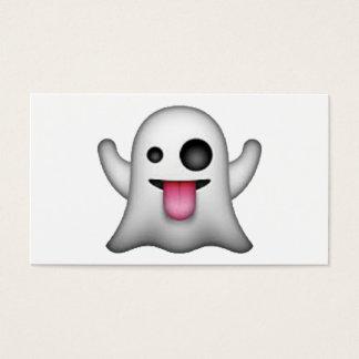 Tarjeta De Visita Emoji - fantasma