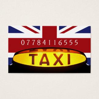 Tarjeta De Visita Empresa británica del taxi