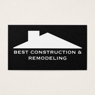 Tarjeta De Visita Empresa de servicios de la construcción