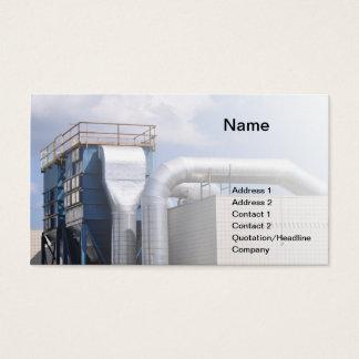 Tarjeta De Visita equipo de la HVAC o de refrigeración