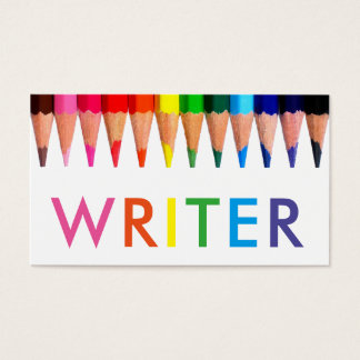 Tarjeta De Visita Escritor