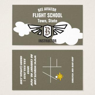 Tarjeta De Visita Escuela del vuelo