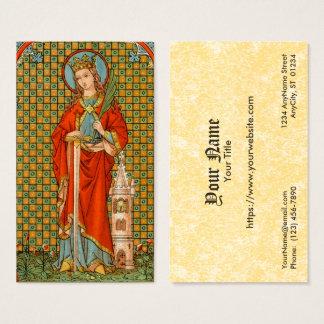 Tarjeta De Visita Estándar del St. Barbara (JP 01) FB