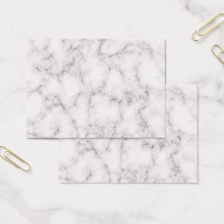 Tarjeta De Visita Estilo de mármol elegante