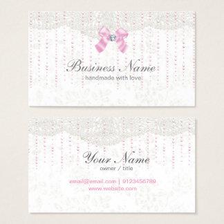 tarjeta de visita - fantástica, arco del rosa,