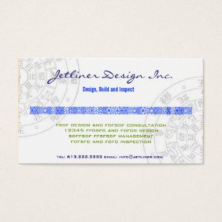 Tarjeta De Visita Feng-Shui, diseño interior Consulting Inc.